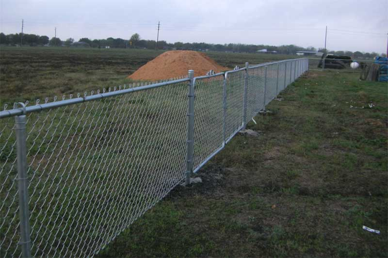 Installing Residential Commercial Chain Link Bison Fence