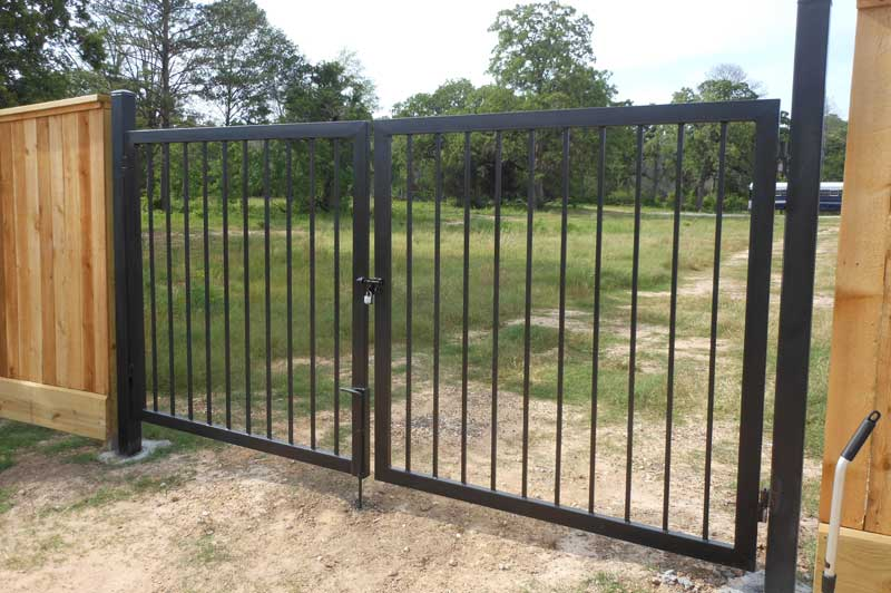 Bison Fence The Woodlands Tx Gate Gallery