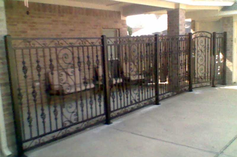 Bison Fence Cypress Tx Wrought Iron Fence Company