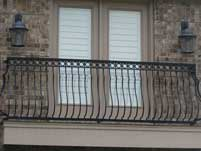 Oversized Balcont Railing