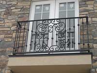 Scroll Balcony Railing