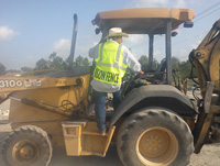 Commercial Equipment Backhoe
